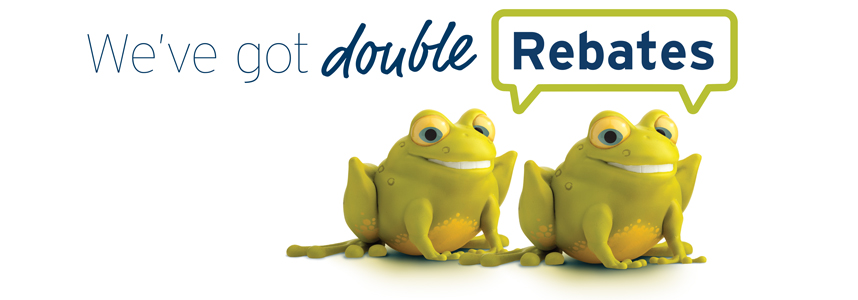 Double rebates from Fortis BC